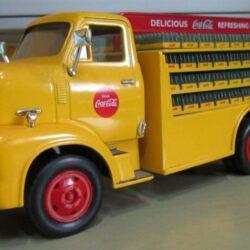 Camion Ford G500 marca HERTL sc.1/34 anno 1953 rip. cm 22x8x H 8 bellissimo pezzo da collezione giocato Camion