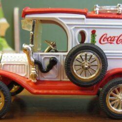 Camion 1931 Ford mod. T VAN commemorative christmas editions ancora nella scatola in alluminio originale – cm 19×4.5x H 4 Camion