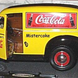 Matchbox Ford Sedan Delivery 1940 scala 1/18 in metallo – Perfetta anche nei minimi particolari – si aprono tutte le portiere ed il cofano – nuova imballata – orig. u.s.a. Camion