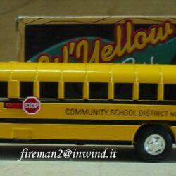 Ertl – Scuolabus salvadanaio in metallo – nuovo imballato Camion