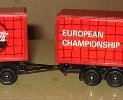 Camion motrice rimorchio dei campionati europei Camion