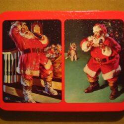 Doppio mazzo di carte con astuccio in alluminio anno 1992 Carte da gioco