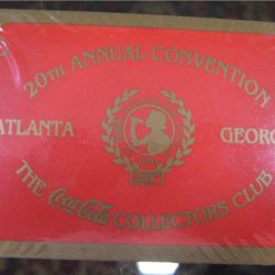 20th Annual Convenction the Coca Cola collectors Club Atlanta – Georgia Carte da gioco