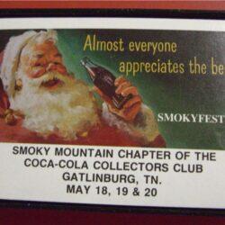 Gatlinburg TN 18-19-20*05/1995 SMOKY MOUNTAIN CHAPTER of the Coca Cola collectors Club Carte da gioco