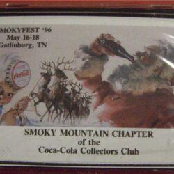 Gatlingurg TN 16-18 maggio 1996 SMOKY MOUNTAIN CHAPTER of the Coca Cola collectors Club Carte da gioco