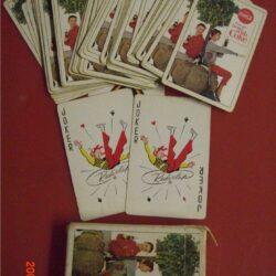 Mazzo di carte da gioco anno 1963 !!?? Vintage Carte da gioco