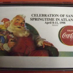 Celebration of Santa Springtime in Atlanta 8-11/4/1998 Carte da gioco