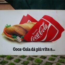 Maxi cartellone pubblicitario bifacciale in plexiglass cm 133×76 Cartelloni