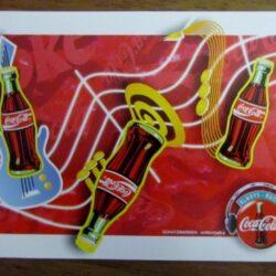 Coca cola Music 1995 Cartoline