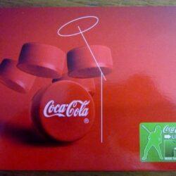 Coca cola Live MTV Cartoline