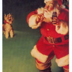 Merry Christmas with Santa Claus anno 1961 Cartoline