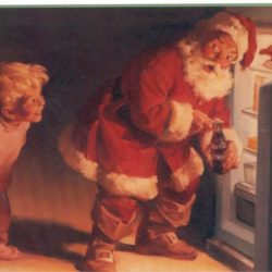 Merry Christmas with Santa Claus anno 1959 Cartoline