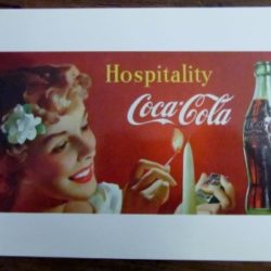 Hospitality orig. 1950 ripr. 1997 Cartoline