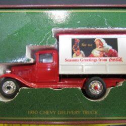 Camion 1930 Chevrolet delivery truck marca commemorative christmas editions ancora nella scatola in alluminio – cm 12x5x H 5.5 Camion