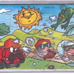 K99-124 Puzzle Italia