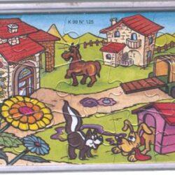 K99-125 Puzzle Italia
