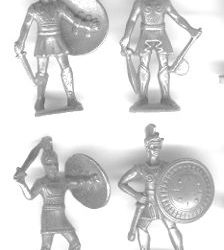 Griechische Soldatini di piombo