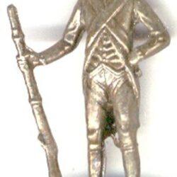 u.s.a. 1780 Soldatini di piombo