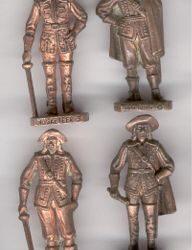 Franzosische Soldatini di piombo