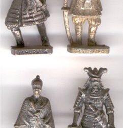 Japanische Soldatini di piombo