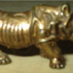 Rinoceronte Soldatini di piombo