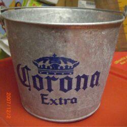 Secchiello in alluminio Corona
